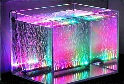 Xcellent Global Remote Color Changing Aquarium Fish Tank Lights5050 LED With UK Plug M-LD063
