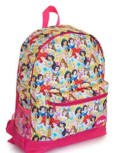 Zaino Principesse Disney Con Principessa Cenerentola, Jasmine, Rapunzel, Ariel, Biancaneve e Belle, Zainetto Asilo Bimba, Zainetti Bambina Scuola Elementare, Borsa Da Scuola