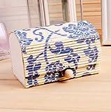 1pcs Storage Boxes Bamboo Wooden Case Gi...