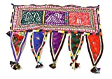 Home Decorative Indian Embroidered Handmade Banderwal Toran Valance - Best Reviews Guide