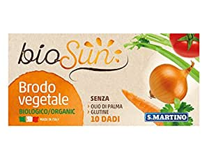 S.Martino Biosun Dadi Vegetali da Brodo - 100 gr