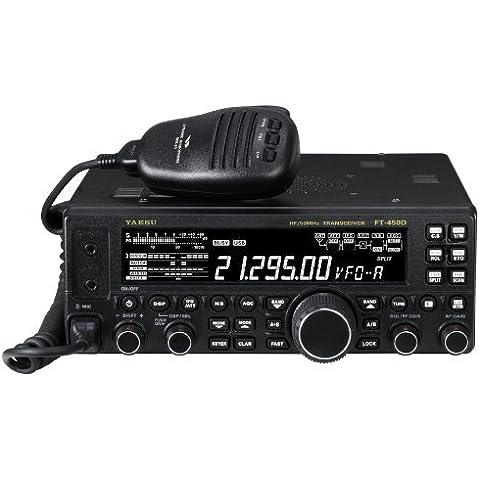 YAESU FT-450D Ricetrasmettitore 100W HF50MHz con AT - IF DSP e (Yaesu Radio)