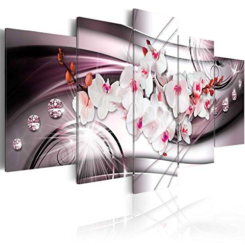 murando - Cuadro en Lienzo 100x50 cm - Flores - Impresion en calidad fotografica - Cuadro en lienzo tejido-no tejido - dea Diamondo b-A-0238-b-o