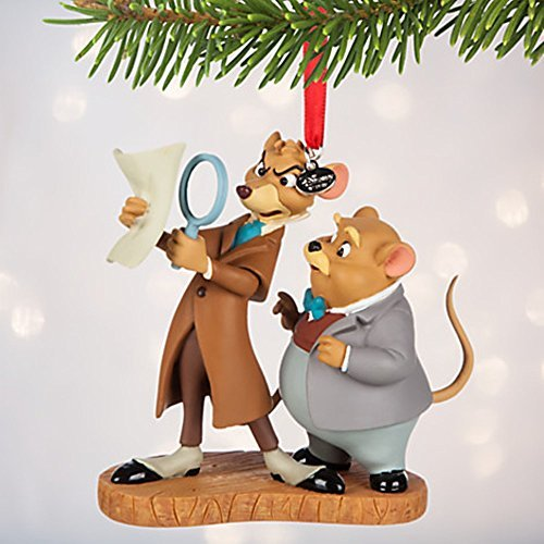 Disney Basil and Dawson Sketchbook Ornament - The Great Mouse Detective 2016 by Disney