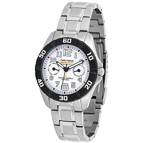 TIME FORCE TF-4131B02M Reloj para Chico, Multifunción, Selección Española