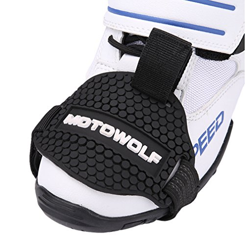 Motocicleta Moto Gear Shift Pad Funda Protector De Calzado Riding Shoes Protective...