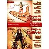 El Pequeño Gigante (tom thumb) 1958 (Real.George Pal) /Los Viajes de Gulliver (Gulliver's Travels) 1977 (Real. Peter R. Hunt) by Richard Harris