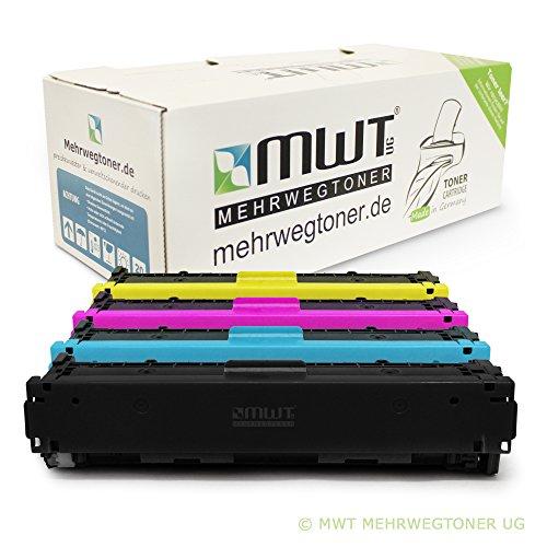 4x MWT XXL Remanufactured Toner für HP Color LaserJet Pro MFP M 277 dw n ersetzt CF400X-03X