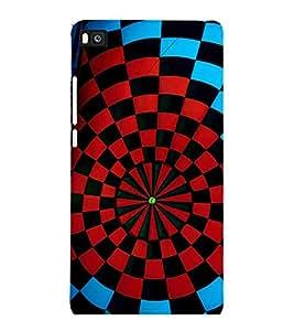 printtech Aim Board Dart Board Back Case Cover for Huawei Honor P8