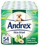 Andrex Skin Kind Toilet Tissue, with Aloe Vera, 54 Rolls
