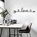 Gaddrt DIY Familienhaus Wandaufkleber Removable Decals Vinyl Art Room Decor (A)