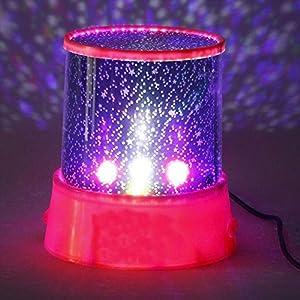 Hongfei Romantischer Stern-Himmel-Nachtlicht-Projektor Erstaunliche Nacht Beleuchtung Lampe für Kinder Kinder…
