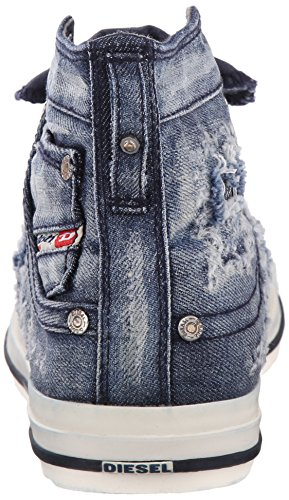 Diesel Signore della scarpa da tennis Scarpe Magneti Expo-Zip Indigo