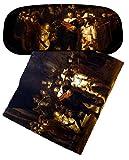 Set Brillenetui und Brillenputztuch Rembrandt - Nachtwache von Artis Vivendi