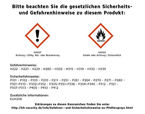 Pfefferspray 30 ml Abwehrspray Nebel Contra-Dog-Bundespost Abbildung 2