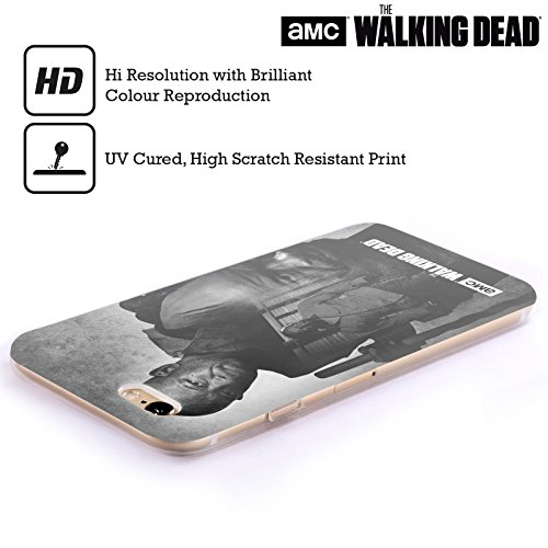 Offizielle AMC The Walking Dead Daryl Doppelte Aussetzung Soft Gel Hülle für Apple iPhone 5 / 5s / SE Morgan