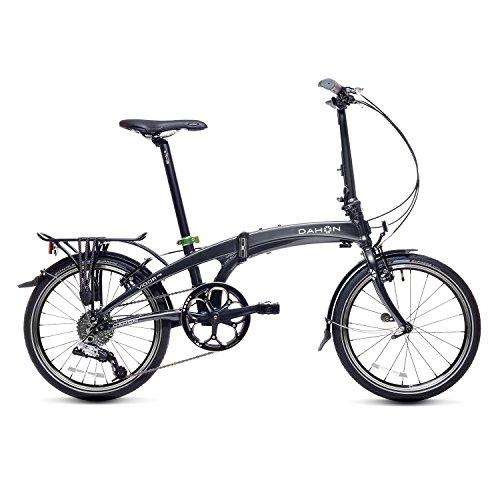 Dahon Vigor D9 Bicicleta Plegable, Unisex Adulto, Negro (Inkgot), 20'