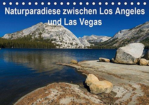 Naturparadiese zwischen Los Angeles und Las Vegas (Tischkalender 2019 DIN A5 quer): Fotos, die während eines Roadtrips entlang der Sierra Nevada entstanden (Monatskalender, 14 Seiten ) (CALVENDO Orte)