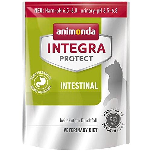 Animonda Integra Protect Intestinal Katzen-Nassfutter mit Pute | Diät Katzenfutter | Nassfutter bei Durchfall oder Erbrechen (16 x 100 g) (Blut-schleim)