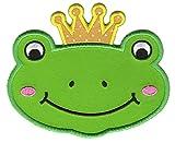 Produkt-Bild: PatchMommy Patch Aufnaeher Aufbuegler Applikation zum Aufbuegeln, Frosch Prinz - fuer Kinder Baby