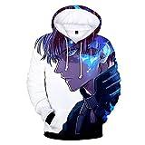 Jinlan Boku No Hero Academia Hoodie 3D bedrucktes Kapuzenpullover