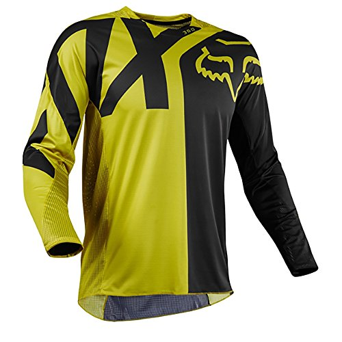 Fox Jersey 360 Preme, Dark Yellow, Größe L