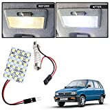 #5: Vheelocityin 24 SMD Dome Light 24 LED Car Roof Light with Spring Adjustable Bracket for Volkswagen Vento