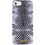 Just Cavalli JCCI005 - Carcasa para Apple iPhone 5/5S, diseño zebra, plateado