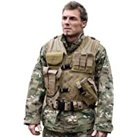 MIL-TEC USMC QUICK DRAW TACTICAL VEST AIRSOFT SPORTS