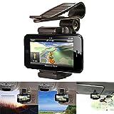 Auto specchietto retrovisore e supporto, Transer® specchietto retrovisore per auto supporto per telefono cellulare GPS per auto Phone Mount titolari