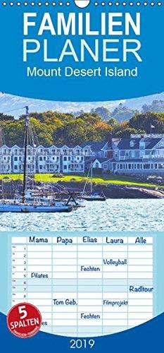 Mount Desert Island Acadia National Park und Bar Harbor - Familienplaner hoch (Wandkalender 2019 , 21 cm x 45 cm, hoch): Tauchen Sie ein in die ... (Monatskalender, 14 Seiten ) (CALVENDO Orte) -