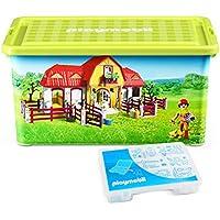 Preisvergleich für PLAYMOBIL 064663 - Aufbewahrungsbox XL Farm, Spiel
