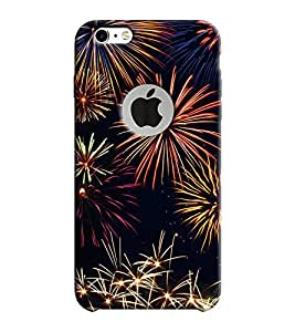 Mental Mind 3D Printed Plastic Back Cover With Logo Hole For Apple iPhone 6 -3DIP6H-G8203
