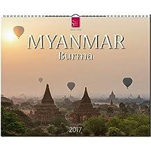 MYANMAR - BURMA - Original Stürtz-Kalender 2017 - Großformat-Kalender 60 x 48 cm