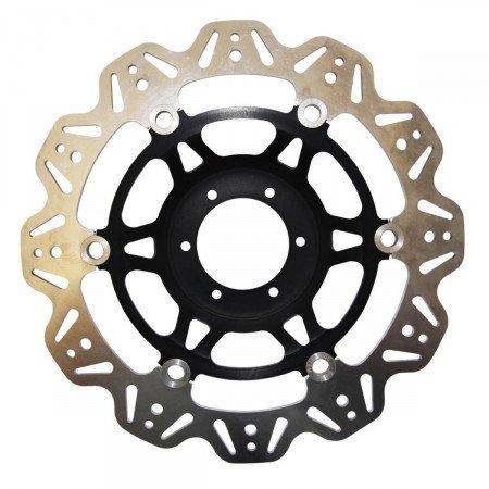 Preisvergleich Produktbild Kawasaki zx6r-05 / 15-zx10r-04 / 07-z750 r-07 / 12-Z1000 sx-07 / 15-z1000 – 07 / 13-disque Bremsbeläge Vorne Wave ebc-vr4152blk