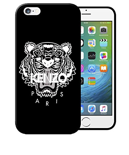 Coque Iphone 7 Kenzo Paris Noir Etui Housse Bum