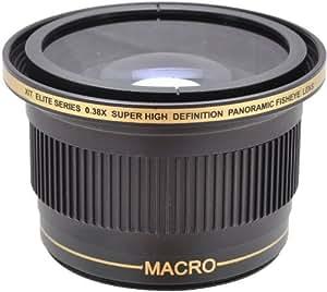 .38x HD Superweitwinkel Fischaugenobjektiv Fish-eye Konverter Objektiv für Canon, EOS, 1D, 5D, 6D, 7D, 10D, 20D, 30D, 40D, 50D, 60D, 70D, 100D, 300D, 350D, 400D, 450D, 500D, 550D, 600D, 650D, 700D, 1000D, 1100D & 1200D
