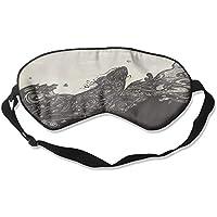 Comfortable Sleep Eyes Masks Black White China Pattern Sleeping Mask For Travelling, Night Noon Nap, Mediation... preisvergleich bei billige-tabletten.eu