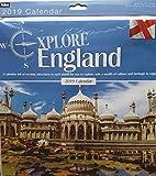 Tallon International Erkunden England–Heritage quadratisch Wand Kalender 2019