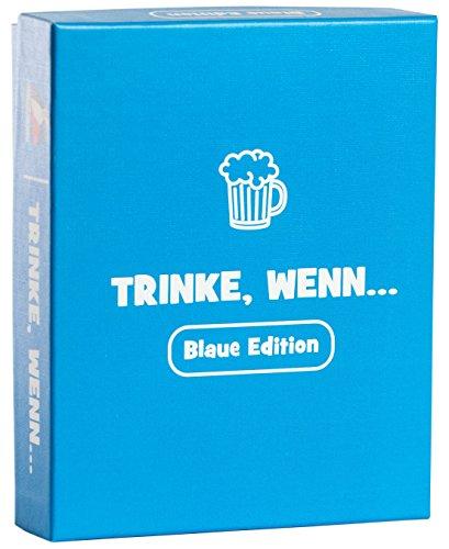 witzige Geschenk für Männer und Frauen / Spiele für Erwachsene als lustiges Geburtstagsgeschenk / Trinkspiele / Saufspiel / Alkohol, Spaß und lustige Gespräche (Gruppe Party-spiele)