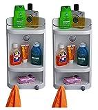Cipla Plast Caddy Small Corner Cabinet -...