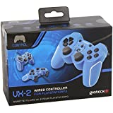 Gioteck VX-2 Wired Controller - Blue (PS3/PC)