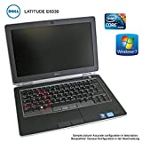 Dell Latitude E6330 Intel Core i5-3320m 3te Gen. 2,6GHz 8GB DDR3 RAM 128GB SSD DVD_RW...