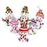 Best Gardeningwill decoraciones de Navidad - Colorido árbol de Navidad ornamento colgante decoración productos Review