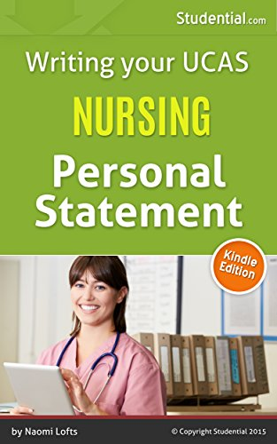 nursing personal statement studential