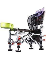 Leichter stabiler Stahl Arm Stuhl Für Camping Im Freien Picnics Beach Angeln