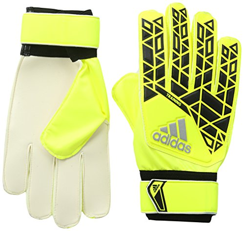 adidas Torwart/Trainings-Handschuhe Ace Torwarthandschuhe, Solar Yellow/Black/Onix, 7.5