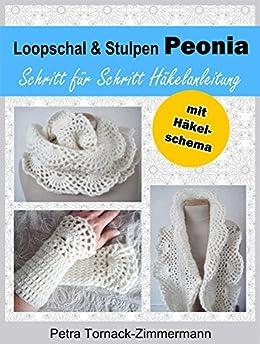 Loopschal & Stulpen PEONIA: Schritt für Schritt Häkelanleitung - mit Häkelschema