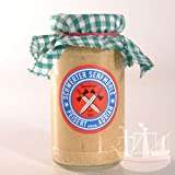 Estragonsenf Senf, wunderbar zu Dressings & Fleischgerichten, Schwerter Senfmühle, im Glas, 185ml - Bremer Gewürzhandel
