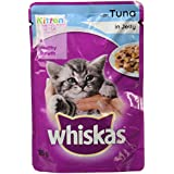 Whiskas Wet Meal Kitten Food, Tuna In Jelly, 85 G (Pack Of 6)